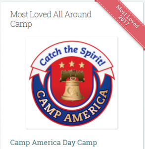 Camp America Most Loved 2017